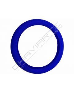 Capa de volante em silicone, azul
