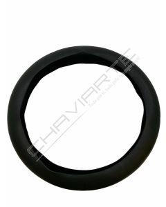 Capa de volante em silicone, negro