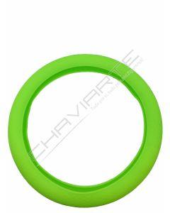 Capa de volante em silicone, verde