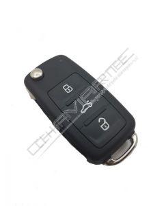 Comando VW 3 Botões ID 48 Aes Caddy (5K0837202BR)