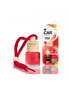 Aroma Car WOOD Strawberry
