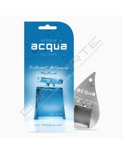 Acqua Car Air Freshener - Aroma Silver Blue