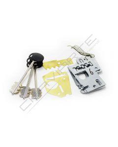 Segredo Mottura de gorges 91184/101DX com chave  MTLF