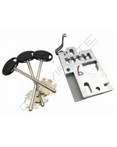 Segredo Mottura de gorges 91184/102SX com chave  5MT5