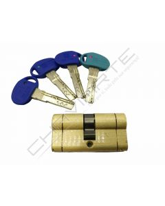 Cilindro Mottura Champions Pro CP4D3131GIL chave de serviço 31 X 31 latão