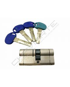 Cilindro Mottura Champions Pro CP4D3136GI chave de serviço 31 X 36 niquelado