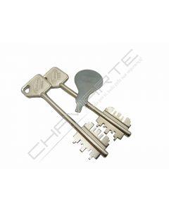 Segredo Potent Vário 7551/3L com chave 5PT22