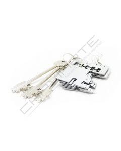 Segredo Potent  997/DM Direito (chave 5PT7 fechaduras sobrepor)