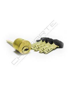 Cilindro ST6 Chaviarte, redondo regulável diametro 26mm, latonado