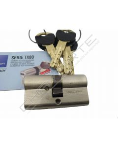 Cilindro Tesa TX80 niquelado