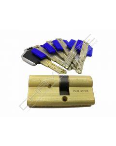 Cilindro Tesa  TX853035LKA com chave Mifare