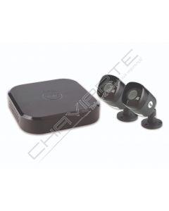 Yale Smart Home CCTV kit de 4 canais, inclui 2 Câmaras