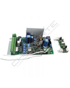 Quadro elétrico Ditec 6EL31R para 1 motor de 24Vcc com rádio 433 mhz