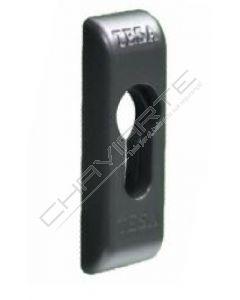 Espelho TESA para cilindro de perfil europeu, negro