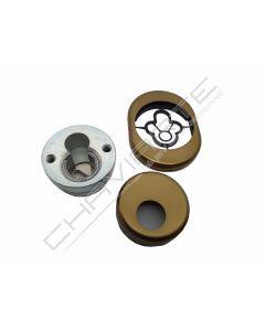 Kit AF escudo de segurança anti-tubo AA, bronze, medidas Dierre (31mm)
