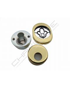 Kit AF escudo de segurança anti-tubo AA, latão, medidas Dierre (31mm)