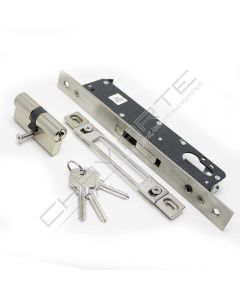 Fechadura de embutir alumínio YALE 5050, entrada 25 mm