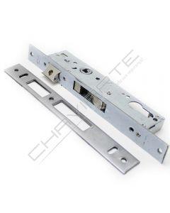 Fechadura de embutir alumínio Tesa 2240BE, entrada 25mm, niquelado