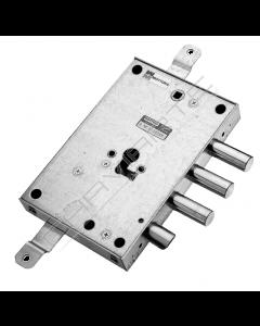 Fechadura Mottura, porta blindada, 3 pernos de avanço 4mm  898571B7DQ (molas de fixação)
