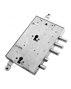 Fechadura Mottura, porta blindada (gardesa) 3+1 pernos 898595GRSQ SX cilindro duplo