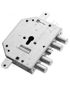 Fechadura Mottura, porta blindada (cifial, trinco no meio)  89C855S00TM SX cilindro