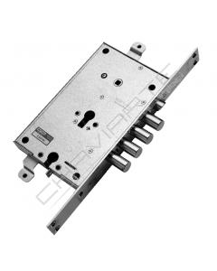 Fechadura Mottura, porta blindada (duplo bloqueio) 89C8798DT DX cilindro