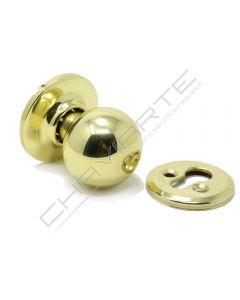 Puxador redondo Tesa 3934, rotativo, dourado