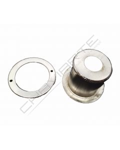 Espelho de segurança rotativo AGC de 4 entradas 35mm