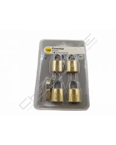 Aloquete Yale Essencial 20MM Pack4 YE1