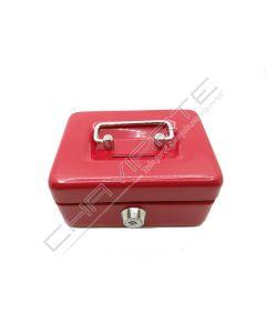 Cofre portátil BTV modelo 10 vermelho
