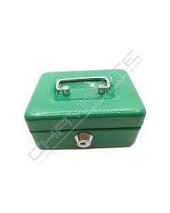 Cofre portátil BTV modelo 11 verde