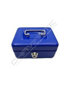 Cofre portátil BTV modelo 10 azul