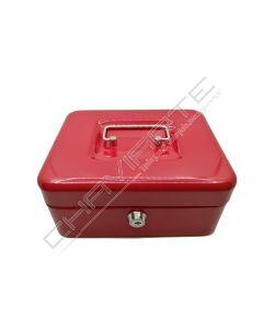 Cofre portátil BTV modelo 12 vermelho