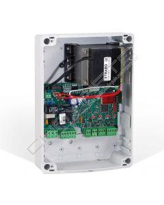 Quadro elétrico Ditec LCU30H para 1 ou 2 motores 24 Vcc/2 x 6A máx. com rádio de 433 MHz