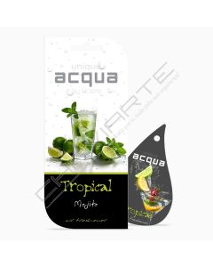 Acqua Car Air Freshener - Tropical Mojito