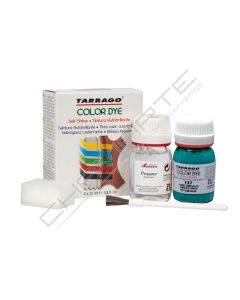 Tinta universal + preparador Tarrago Color-Dye 25ML com esponja cores metalizadas