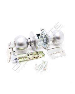 Puxador de bola Tesa 3900, com patilha e chave, cromado