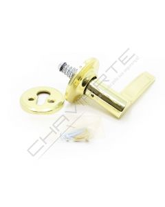 Puxador de muleta Tesa 3534, para porta direita, dourado