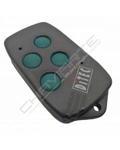 Comando Ditec BIXAG4 de quatro botões 40.685 MHz