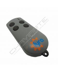 Comando Lyra TX4BL de quatro botões 433.92 MHz