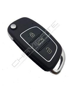 Comando KD 3 botões Tipo Hyundai