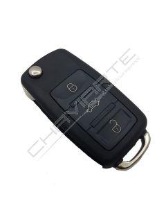 Comando Key-Diy de três botões formato VW