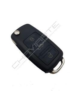Comando Key-Diy de três botões e o de emergência formato VW