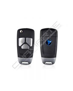 Comando KD 3 BotoesTipo Audi C/Transponder