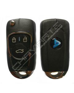 Comando KD 3 Botões Tipo Opel Flip