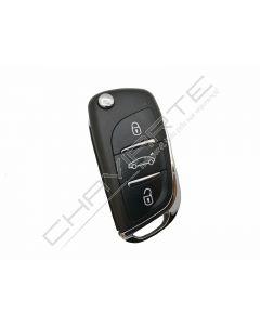 Comando Citroen Com transponder 3 Botões Para VVDI Key Tool