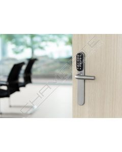 Controlo de acessos Tesa Hotel, escudo autoprogramável por cartão e teclado