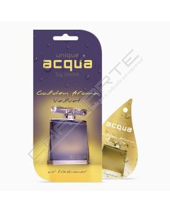 Acqua Car Air Freshener - Aroma Golden Velvet