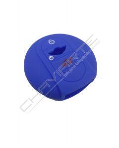 Capa silicone MINI, três botões, Smartkey proximidade, azul