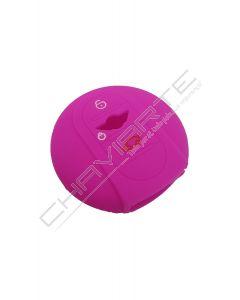 Capa silicone MINI, três botões, Smartkey proximidade, rosa